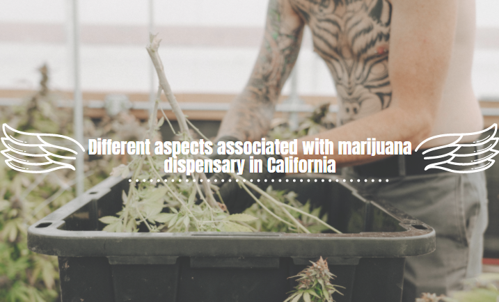 Different aspects associated with marijuana dispensary in California