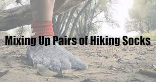 Mixing Up Pairs of Hiking Socks